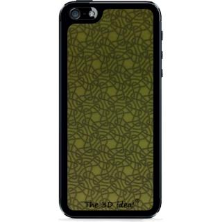 【iPhone SE/5s/5ケース】The 3D idea iPhone5 Skin - Yellow