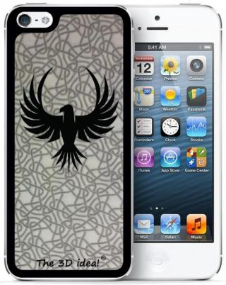iPhone SE/5s/5 ケース The 3D idea iPhone5 Skin - BIRD