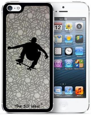 【iPhone SE/5s/5ケース】The 3D idea iPhone5 Skin - SKATER