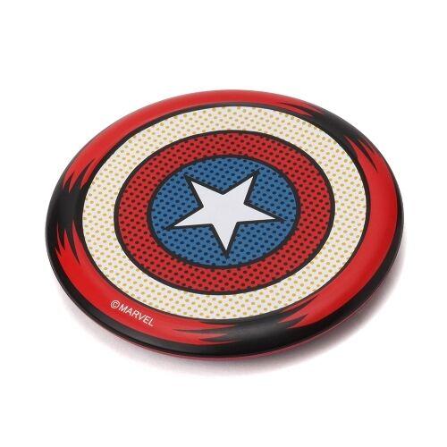 Qi認証 ワイヤレス充電器 キャプテン・アメリカ_0