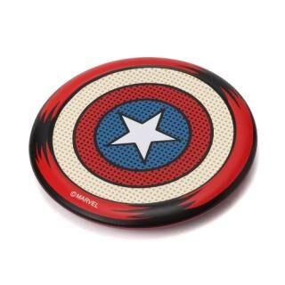 Qi認証 ワイヤレス充電器 キャプテン・アメリカ
