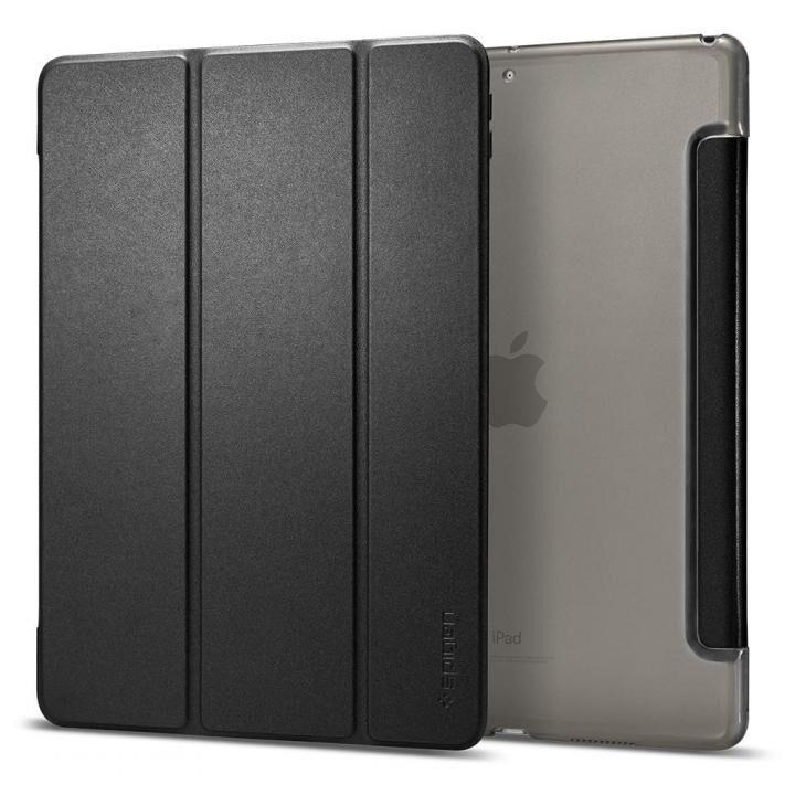 Spigen Smart Fold PUレザー手帳型ケース iPad Air(2019) ブラック_0