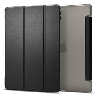 Spigen Smart Fold PUレザー手帳型ケース iPad Air(2019) ブラック