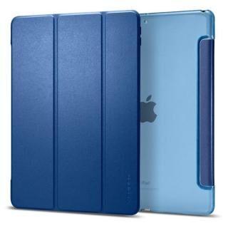 Spigen Smart Fold PUレザー手帳型ケース iPad Air(2019) ブルー