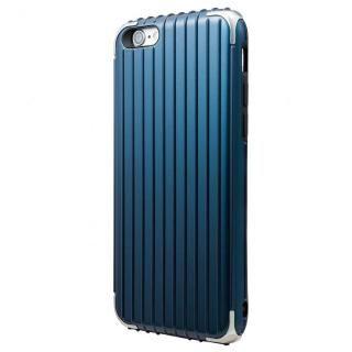 GRAMAS COLORS Rib ハイブリッドケース ネイビー iPhone 6s/6【7月下旬】