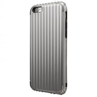 【iPhone6 ケース】GRAMAS COLORS Rib ハイブリッドケース グレイ iPhone 6s/6