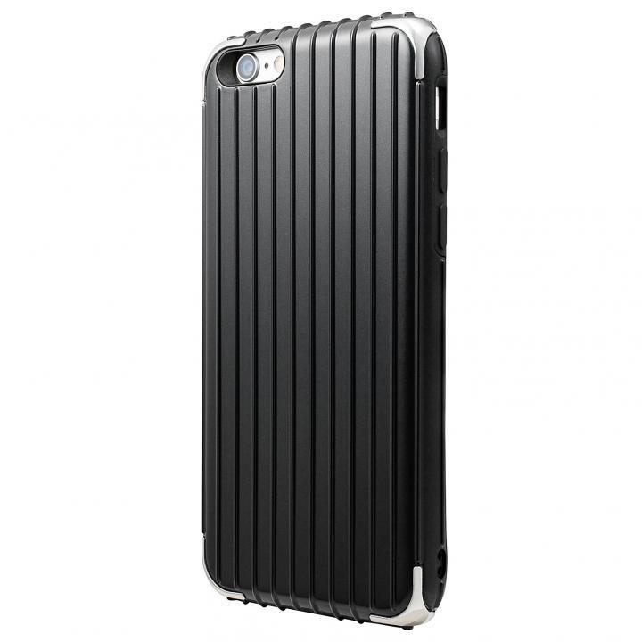 【iPhone6s/6ケース】GRAMAS COLORS Rib ハイブリッドケース ブラック iPhone 6s/6_0