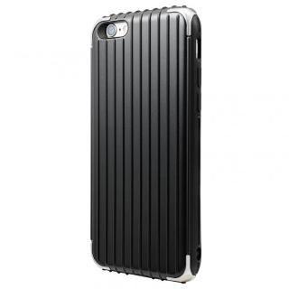 【iPhone6 ケース】GRAMAS COLORS Rib ハイブリッドケース ブラック iPhone 6s/6