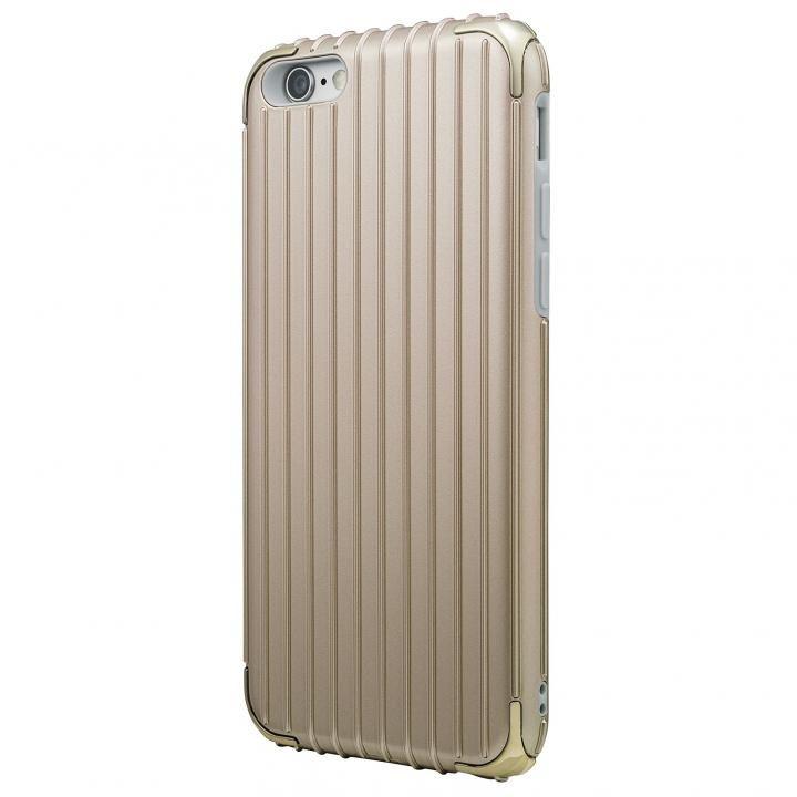 【iPhone6s/6ケース】GRAMAS COLORS Rib ハイブリッドケース ゴールド iPhone 6s/6_0