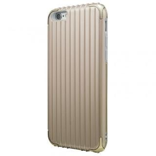 GRAMAS COLORS Rib ハイブリッドケース ゴールド iPhone 6s/6