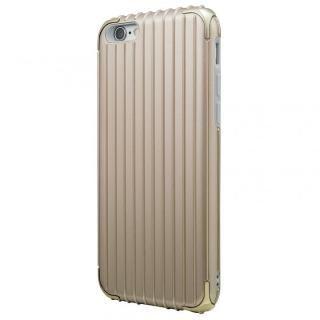 GRAMAS COLORS Rib ハイブリッドケース ゴールド iPhone 6s/6【7月下旬】