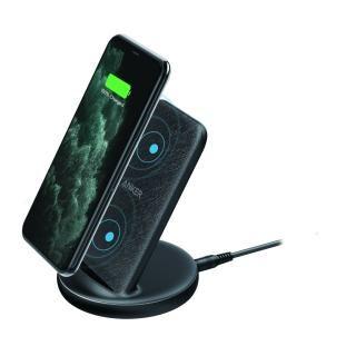 Anker PowerWave II Sense Stand スタンド型ワイヤレス充電器 ブラック【8月中旬】
