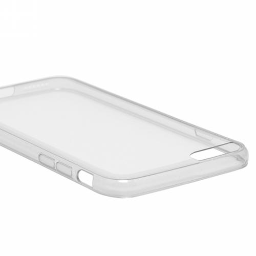 極薄PC+TPU ハイブリッドケース 0.5mm ZERO HV クリア+スモーク iPhone 6 Plus