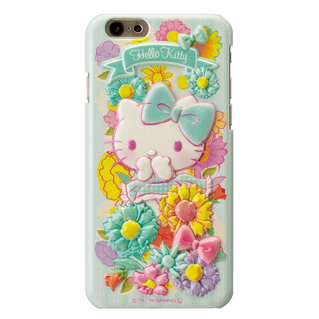 ハローキティ レリーフケース ブルー iPhone 6