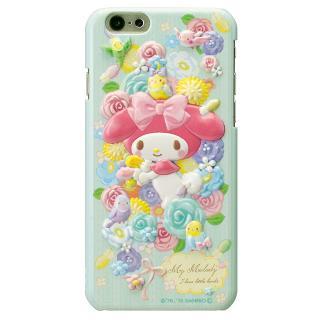 【iPhone6ケース】マイメロディ レリーフケース ブルー iPhone 6