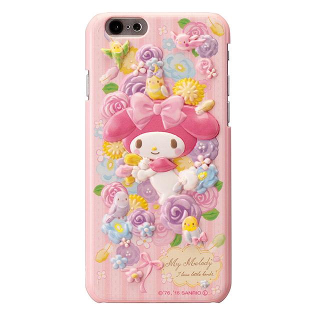 マイメロディ レリーフケース ピンク iPhone 6