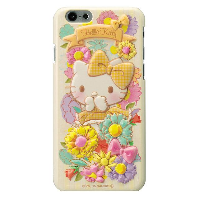 【iPhone6ケース】ハローキティ レリーフケース イエロー iPhone 6_0
