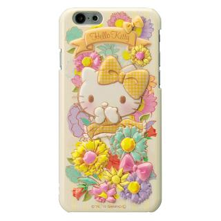 【iPhone6ケース】ハローキティ レリーフケース イエロー iPhone 6