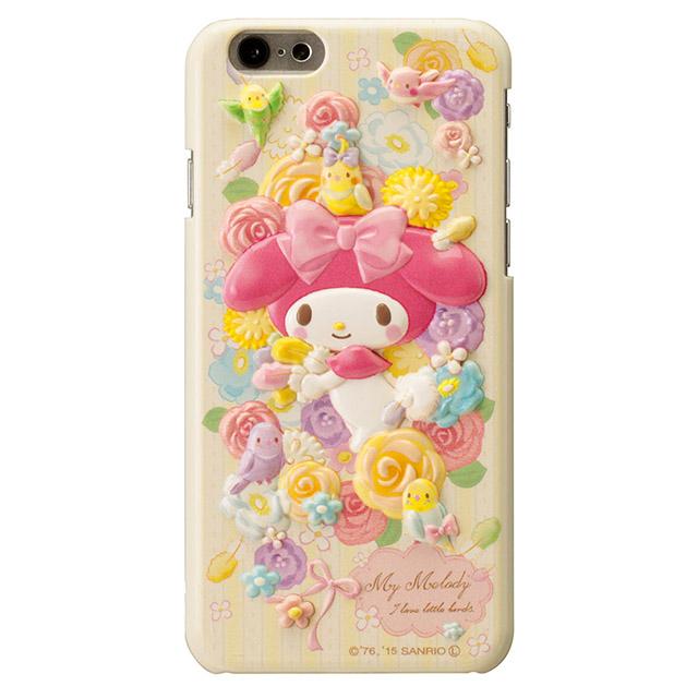 マイメロディ レリーフケース イエロー iPhone 6