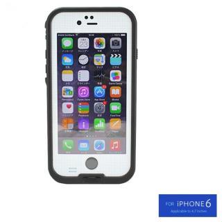防水/防塵/防雪/耐衝撃タフネスケース WATER PROOF CASE ホワイト iPhone 6s/6