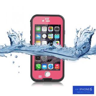 防水/防塵/防雪/耐衝撃タフネスケース WATER PROOF CASE ピンク iPhone 6s/6