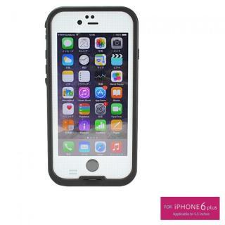 iPhone6s Plus/6 Plus ケース 防水/防塵/防雪/耐衝撃タフネスケース WATER PROOF CASE ホワイト iPhone 6s Plus/6 Plus
