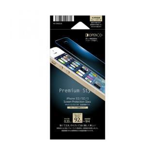 【iPhone SE/5s/5フィルム】[0.33mm]クリアなブルーライト低減92% 強化ガラス iPhone SE/5s/5/5c_1