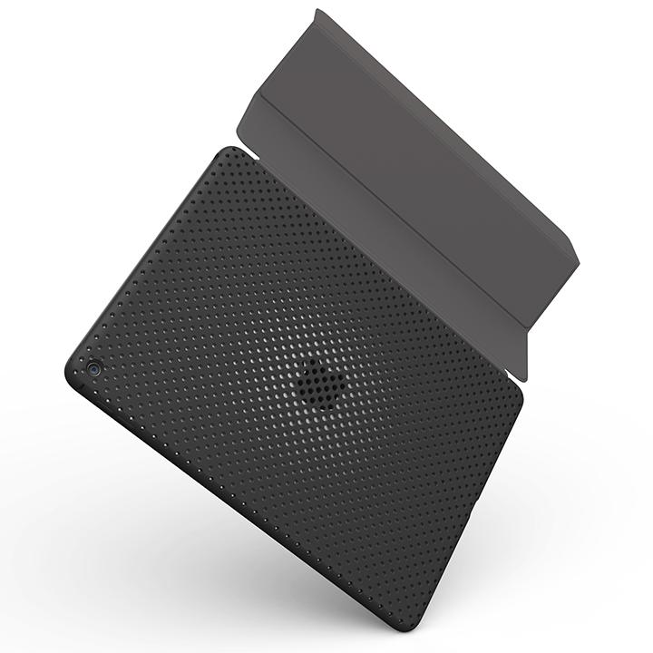 AndMesh エラストマー メッシュケース ブラック iPad Air 2_0