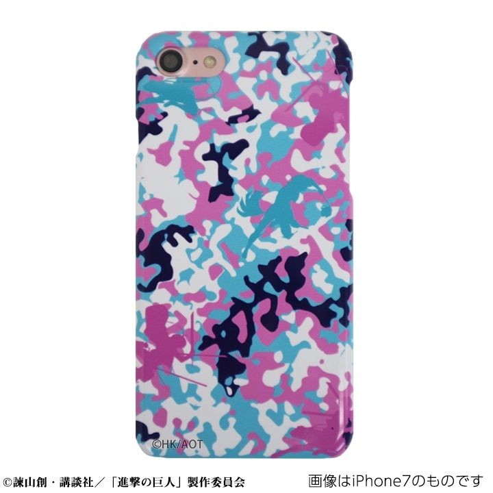 【iPhone7ケース】進撃の巨人 ハードケース camo リヴァイver for iPhone 7【11月上旬】_0