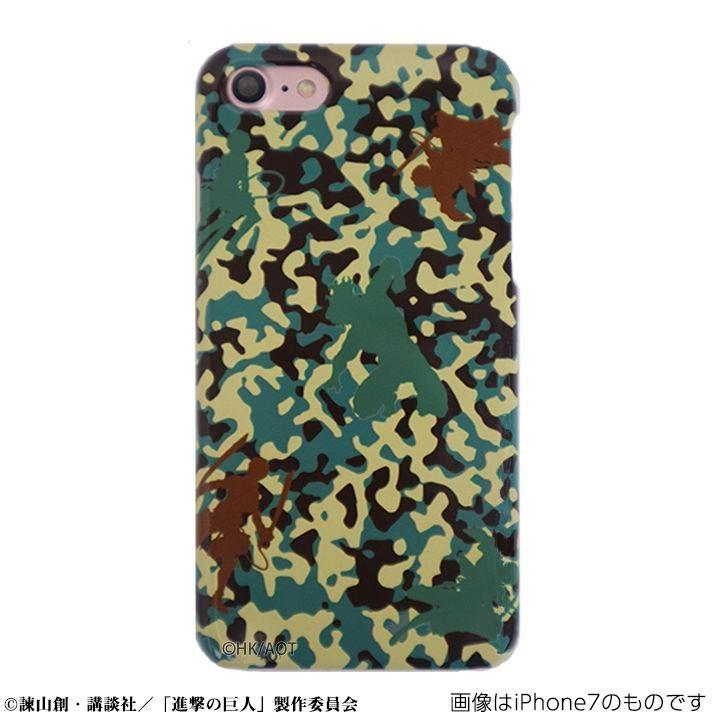 【iPhone SEケース】進撃の巨人 ハードケース camo エレンver for iPhone SE/5s/5【2月下旬】_0