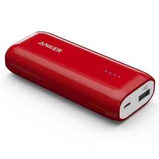 [5200mAh]Anker Astro E1 コンパクト モバイルバッテリー レッド【7月下旬】