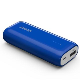 [5200mAh]Anker Astro E1 コンパクト モバイルバッテリー ブルー