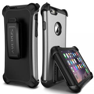 [8月特価]プラスチック×TPU 2層構造耐衝撃ケース VERUS HARD DROP ACTIVE ライトシルバー iPhone 6