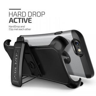 【iPhone6ケース】プラスチック×TPU 2層構造耐衝撃ケース VERUS HARD DROP ACTIVE ライトシルバー iPhone 6_1
