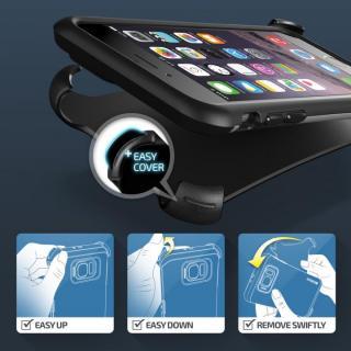 【iPhone6ケース】プラスチック×TPU 2層構造耐衝撃ケース VERUS HARD DROP ACTIVE ライトシルバー iPhone 6_2