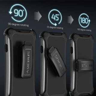 【iPhone6ケース】プラスチック×TPU 2層構造耐衝撃ケース VERUS HARD DROP ACTIVE ライトシルバー iPhone 6_4