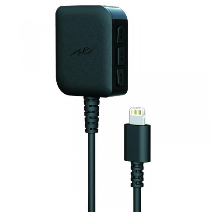 iPhoneで高音質の音楽が聴ける ヘッドホンアンプ with DAC ブラック_0