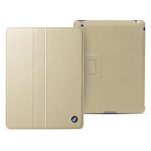 BMW Genuine Leather Case  iPad 4/3/2 Cream Beige_0