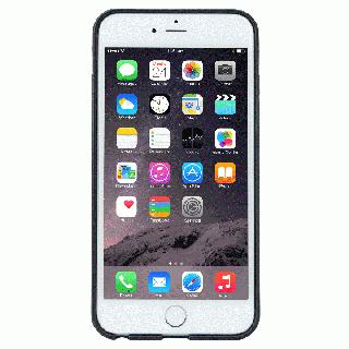 【iPhone6 Plusケース】持ちやすくなるハンドル搭載 本革ケース FINGER SLIP ジェットブラック iPhone 6 Plus_3