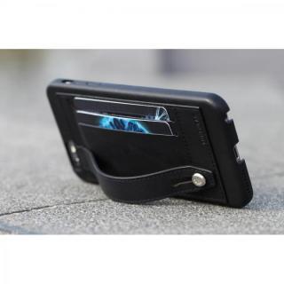 【iPhone6 Plusケース】持ちやすくなるハンドル搭載 本革ケース FINGER SLIP ジェットブラック iPhone 6 Plus_5