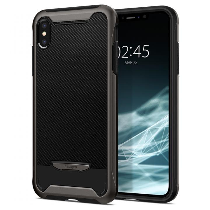 iPhone XS/X ケース Spigen Hybrid NX ガンメタル iPhone XS/X_0