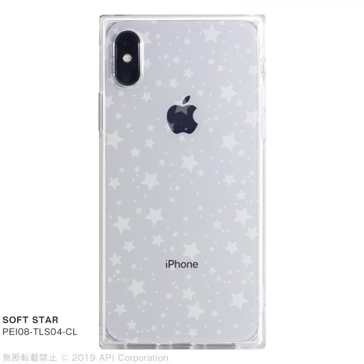 iPhone XS/X ケース EYLE TILE SOFT スクエア型TPUケース STAR iPhone XS/X_0