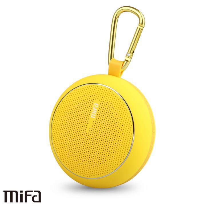 防滴・高音質Bluetoothスピーカー MIFA F1 MUBIT2 イエロー_0