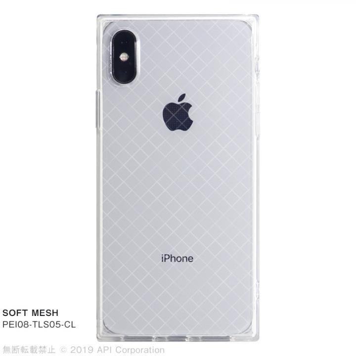 iPhone XS/X ケース EYLE TILE SOFT スクエア型TPUケース MESH iPhone XS/X_0