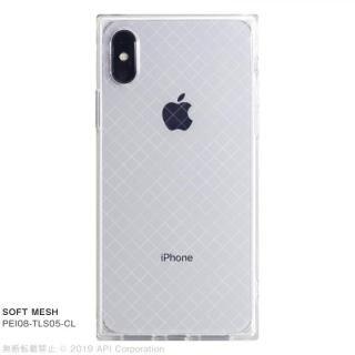 iPhone XS/X ケース EYLE TILE SOFT スクエア型TPUケース MESH iPhone XS/X