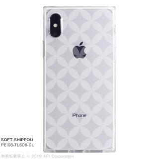 iPhone XS/X ケース EYLE TILE SOFT スクエア型TPUケース SHIPPOU iPhone XS/X