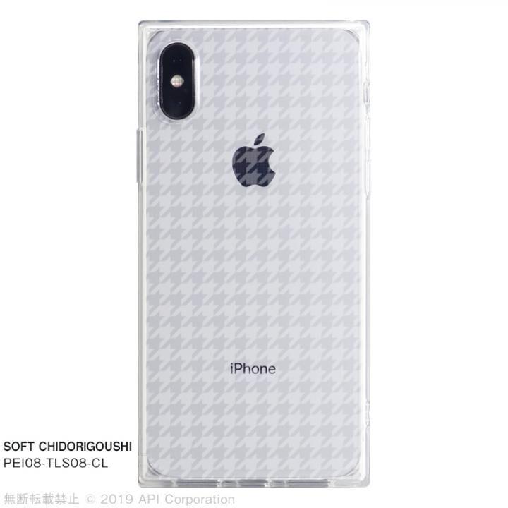 iPhone XS/X ケース EYLE TILE SOFT スクエア型TPUケース CHIDORIGOUSHI iPhone XS/X_0