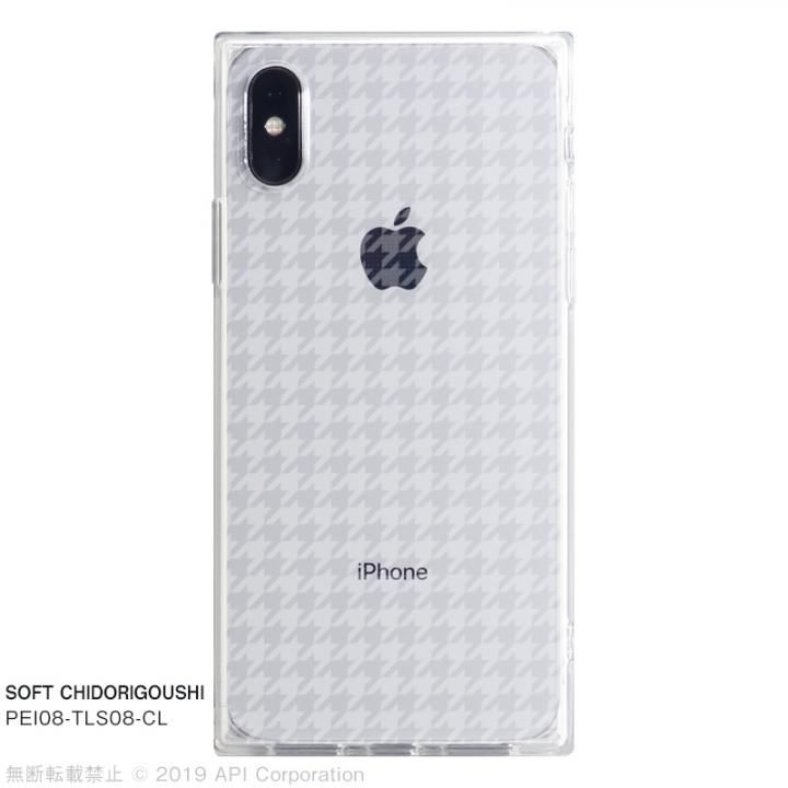 iPhone XS/X ケース EYLE TILE SOFT スクエア型TPUケース CHIDORIGOUSHI iPhone XS/X【7月下旬】_0