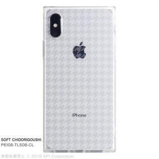 iPhone XS/X ケース EYLE TILE SOFT スクエア型TPUケース CHIDORIGOUSHI iPhone XS/X