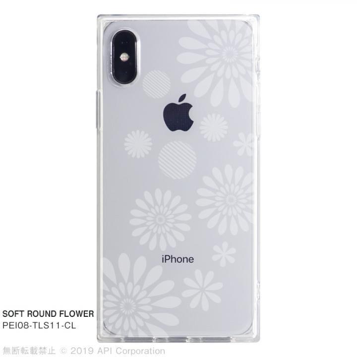 iPhone XS/X ケース EYLE TILE SOFT スクエア型TPUケース ROUND FLOWER iPhone XS/X_0